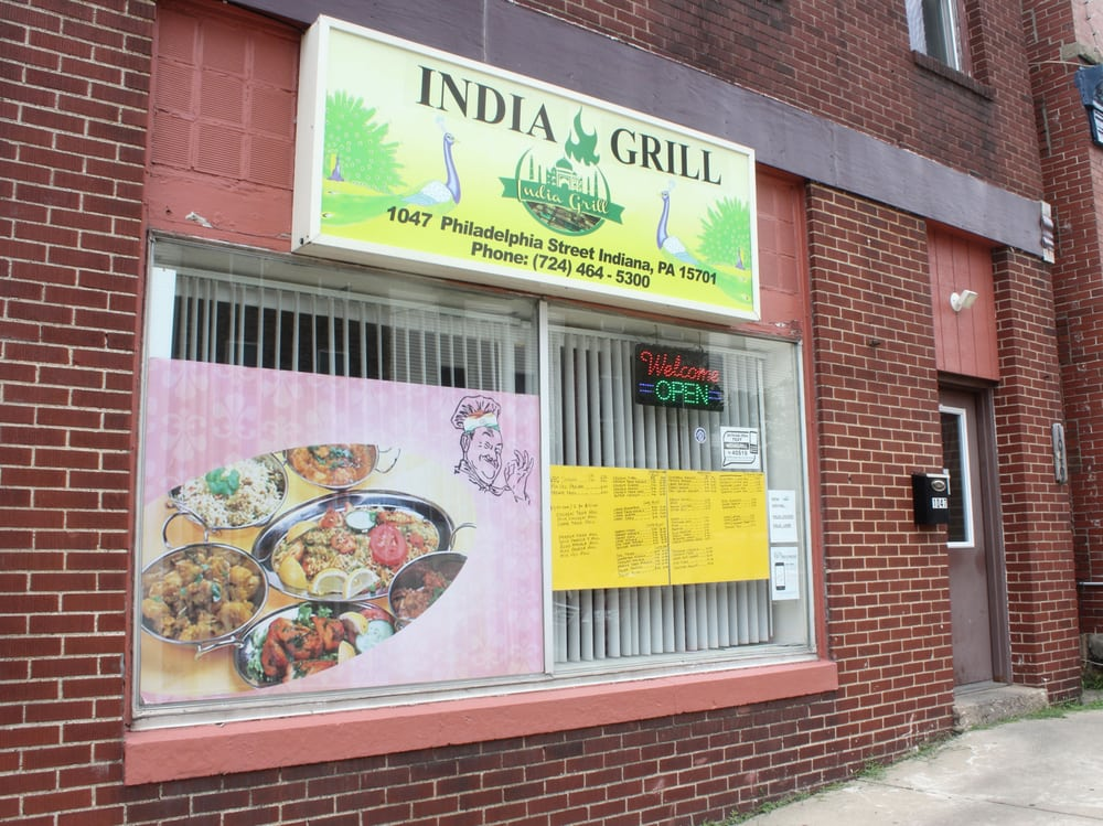 India Grill: 1047 Philadelphia St, Indiana, PA