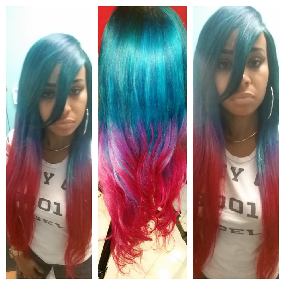 Weaves Colors Custom Wigs Extensions Natural Hair Yelp