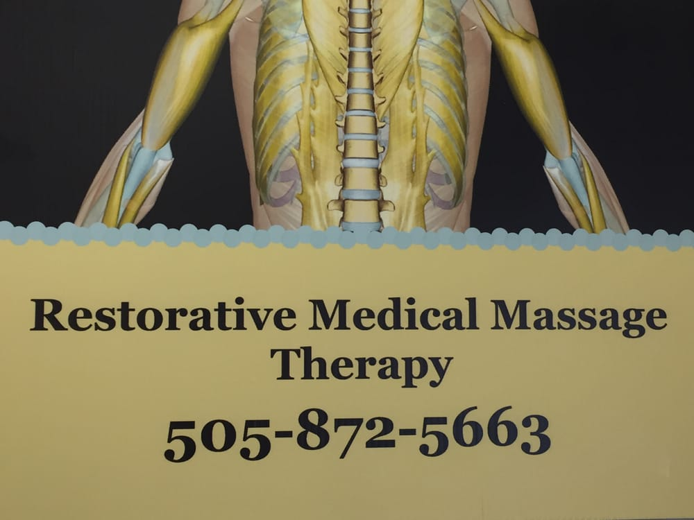Restorative Medical Massage Therapy