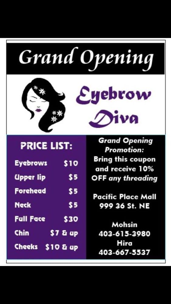 Eyebrow Diva Threading Services 999 36 Street Sw Calgary Ab