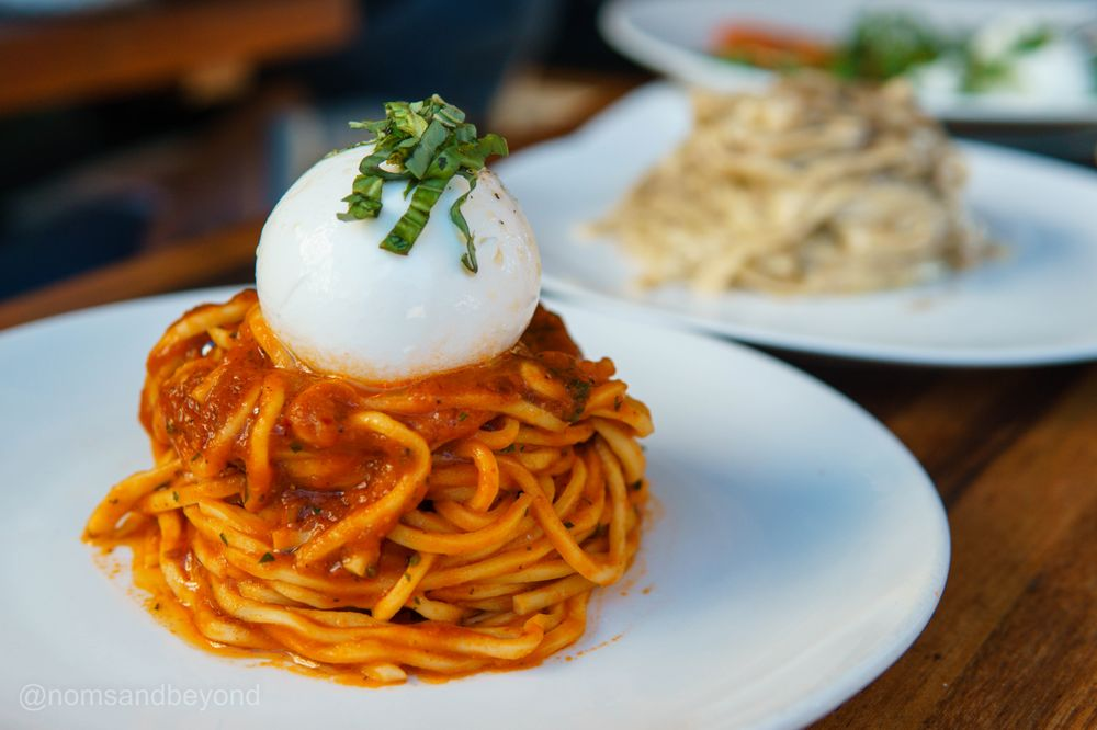 Food from Pasta Sisters - Culver City