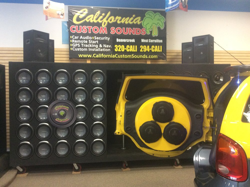 California Custom Sounds: 3415-B Dayton-Xenia Rd, Dayton, OH