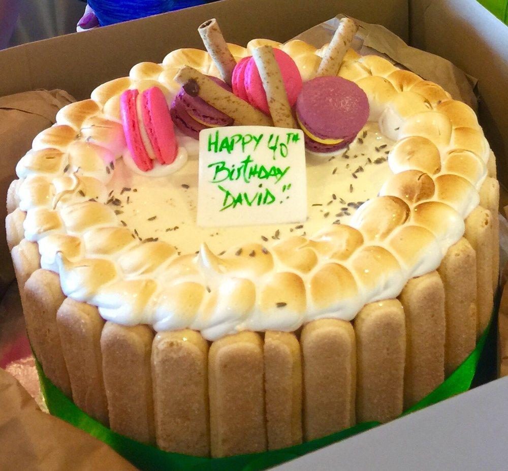 Passion Fruit Lavender Rosemary Pog Gelato Birthday Cake Yelp