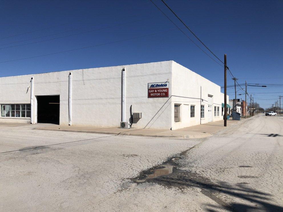 Gay & Young Motor: 301 E 1st St, Big Lake, TX