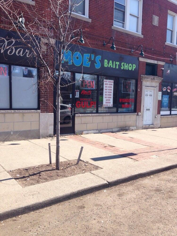 Moe's Bait Shop: 14712 E Jefferson Ave, Detroit, MI