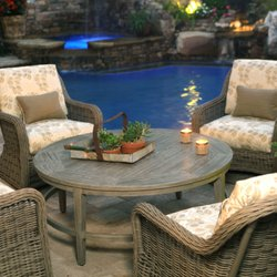 Photo Of Out Back Patio Furnishings   Marble Falls, TX, United States