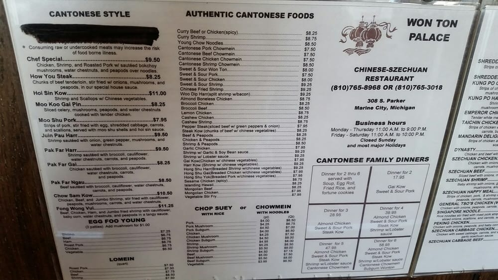 Marine City Mi Restaurants
