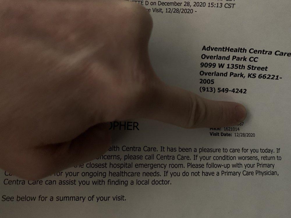 AdventHealth Centra Care Overland Park