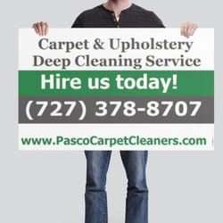 Photo Of Pasco Carpet Upholstery Cleaning Service Hudson Fl United States