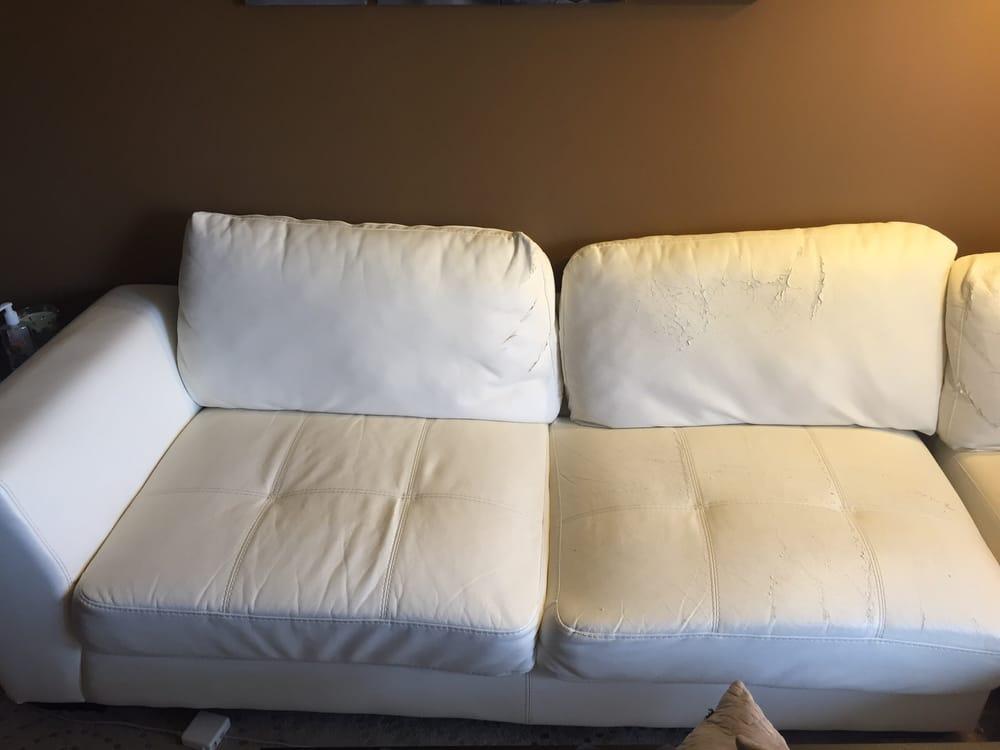I Have No Animals Btw The Couch Started Shedding After A Few Years Yelp