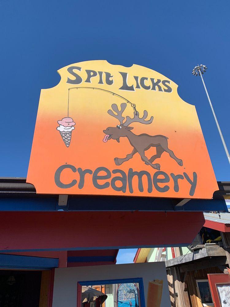 Spit Licks: Homer Spit Rd, Homer, AK