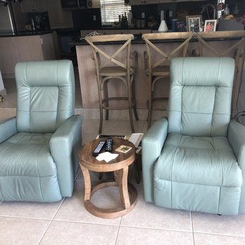 Photo Of Leather Express Fort Lauderdale Fl United States Turquoise Recliners