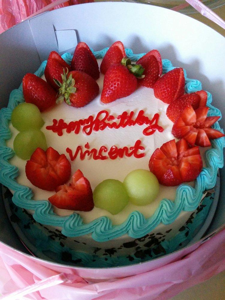 9 Inch Mixed Fruit Birthday Cake 18 Yelp