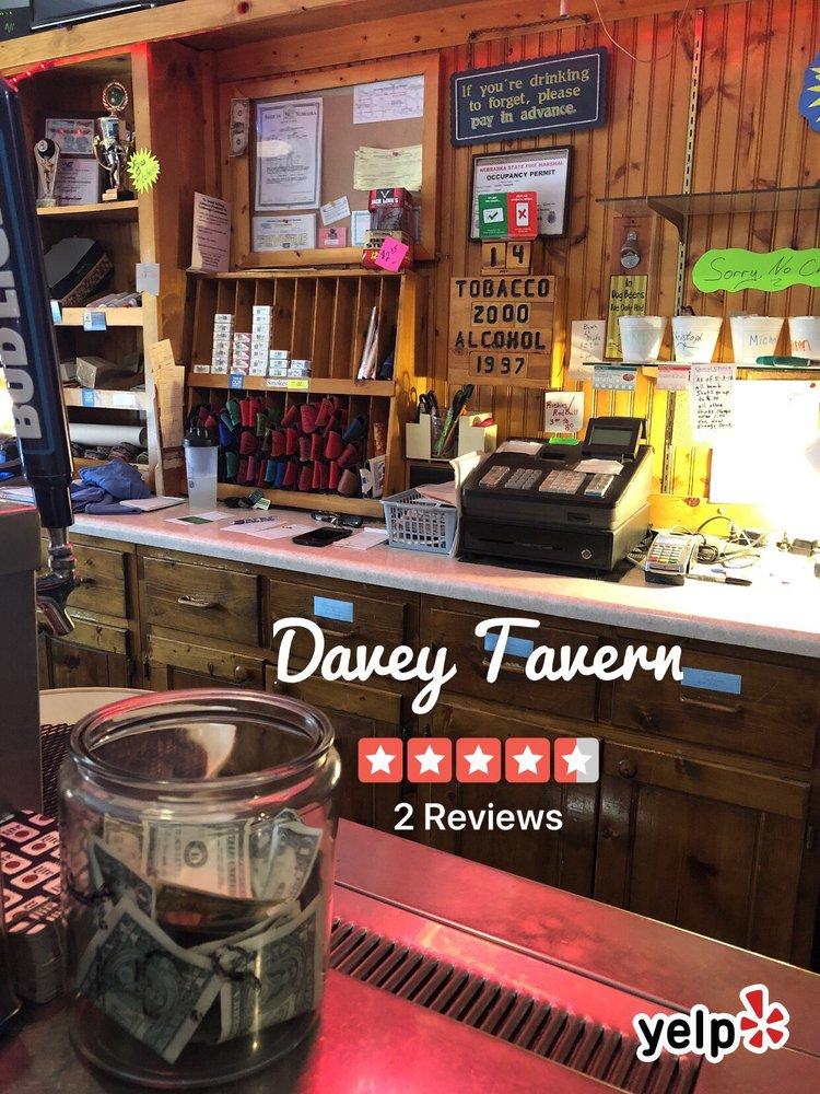 Davey Tavern: 17740 N 2nd St, Davey, NE