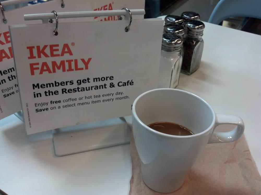 Free coffee for ikea family members yelp for Ikea jobs orlando fl