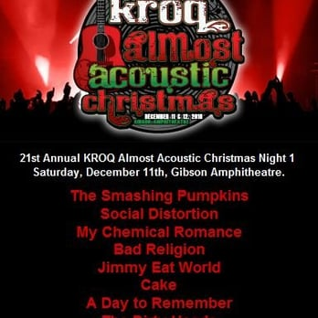 photo of kroq almost acoustic christmas universal city ca united states - Kroq Christmas