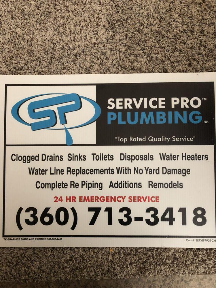 Service Pro Plumbing: Vancouver, WA