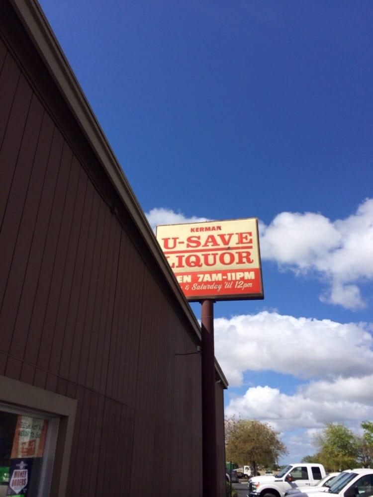Kerman U Save Liquors: 15091 W Whitesbridge Ave, Kerman, CA