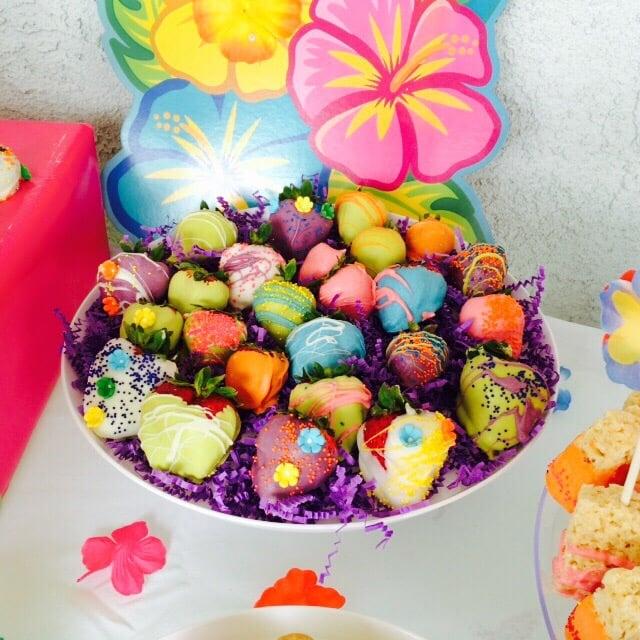 Chocolate Covered Strawberries Luau Theme Yelp