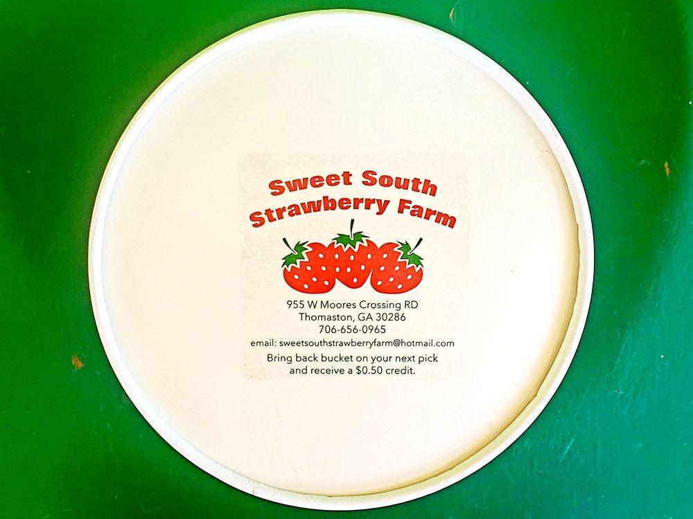 Sweet South Strawberry Farm: 701 W Moores Crossing Rd, Thomaston, GA