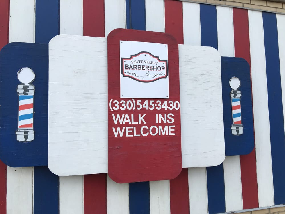 State Street Barber Shop: 515 E State St, Alliance, OH
