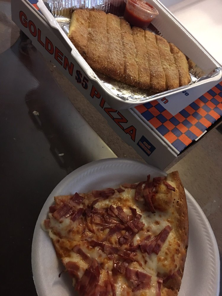 Golden Pizza: 1200 E Highland Ave, San Bernardino, CA