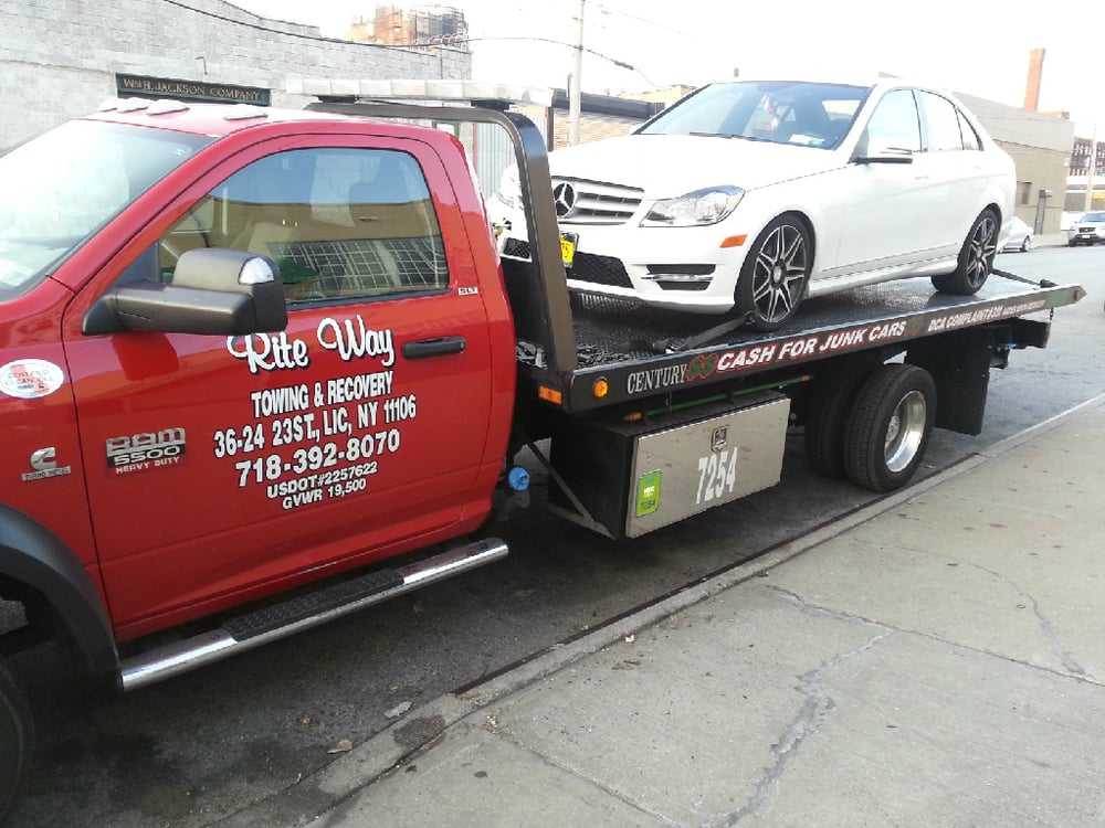 Rite Way Towing & Recovery - Towing - 519 W 47th St, Long Island ...