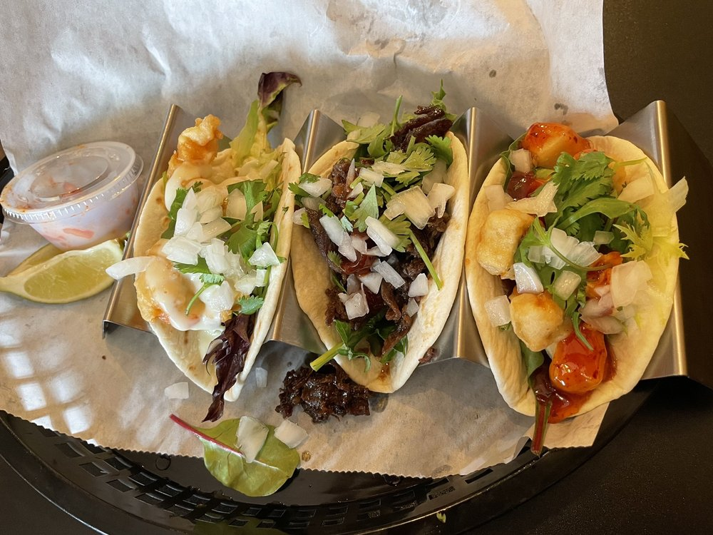 Food from KungFu Taco