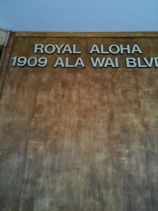 Royal Aloha Condominium Apartments 1909 Ala Wai Blvd Waikiki Honolulu Hi Phone Number