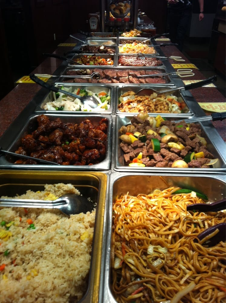 Food from Peking Chinese Restaurant