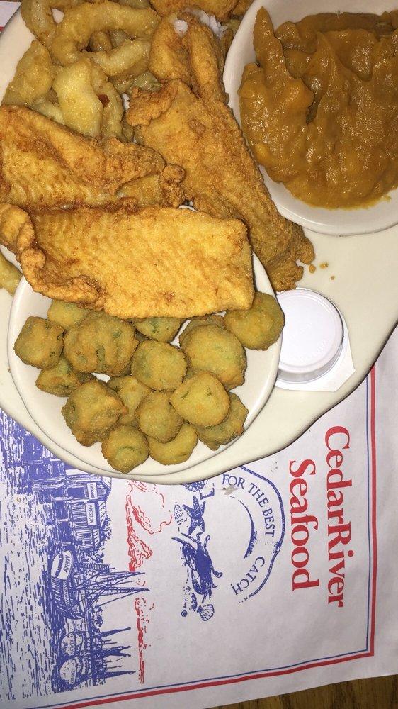 Cedar River Seafood: 900 S Walnut St, Starke, FL