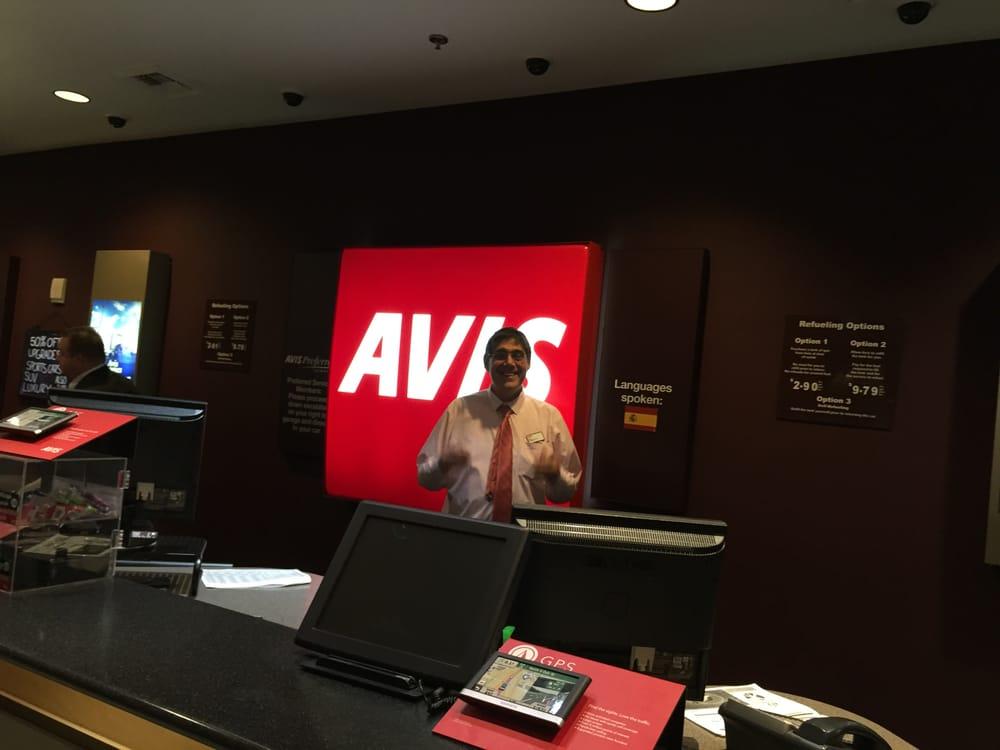 Avis Rent A Car McCarran Airport  Southeast  Las Vegas NV