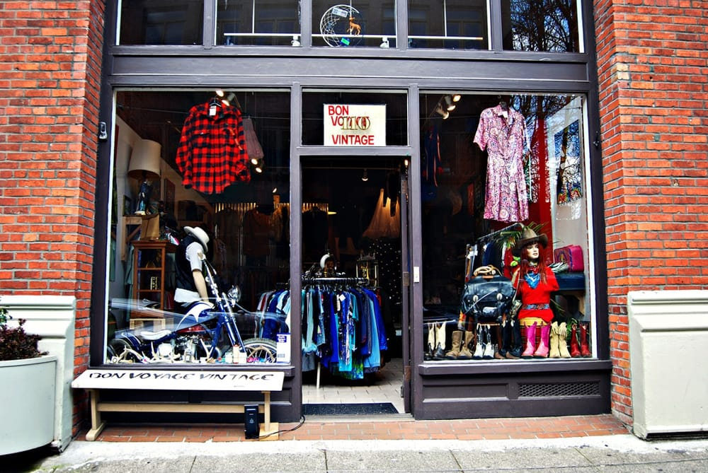 Bon Voyage Vintage: 110 S Washington St, Seattle, WA