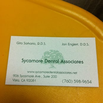 Sycamore dental 12 photos 10 reviews general dentistry 906 photo of sycamore dental vista ca united states business card reheart Image collections
