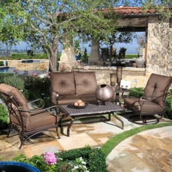 Delightful Photo Of Out Back Patio Furnishings   Kerrville, TX, United States