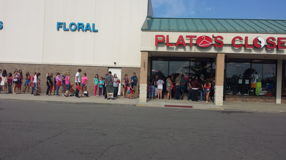 Plato S Closet Flint Mi Does A Grab Bag Sale Twice A Year And