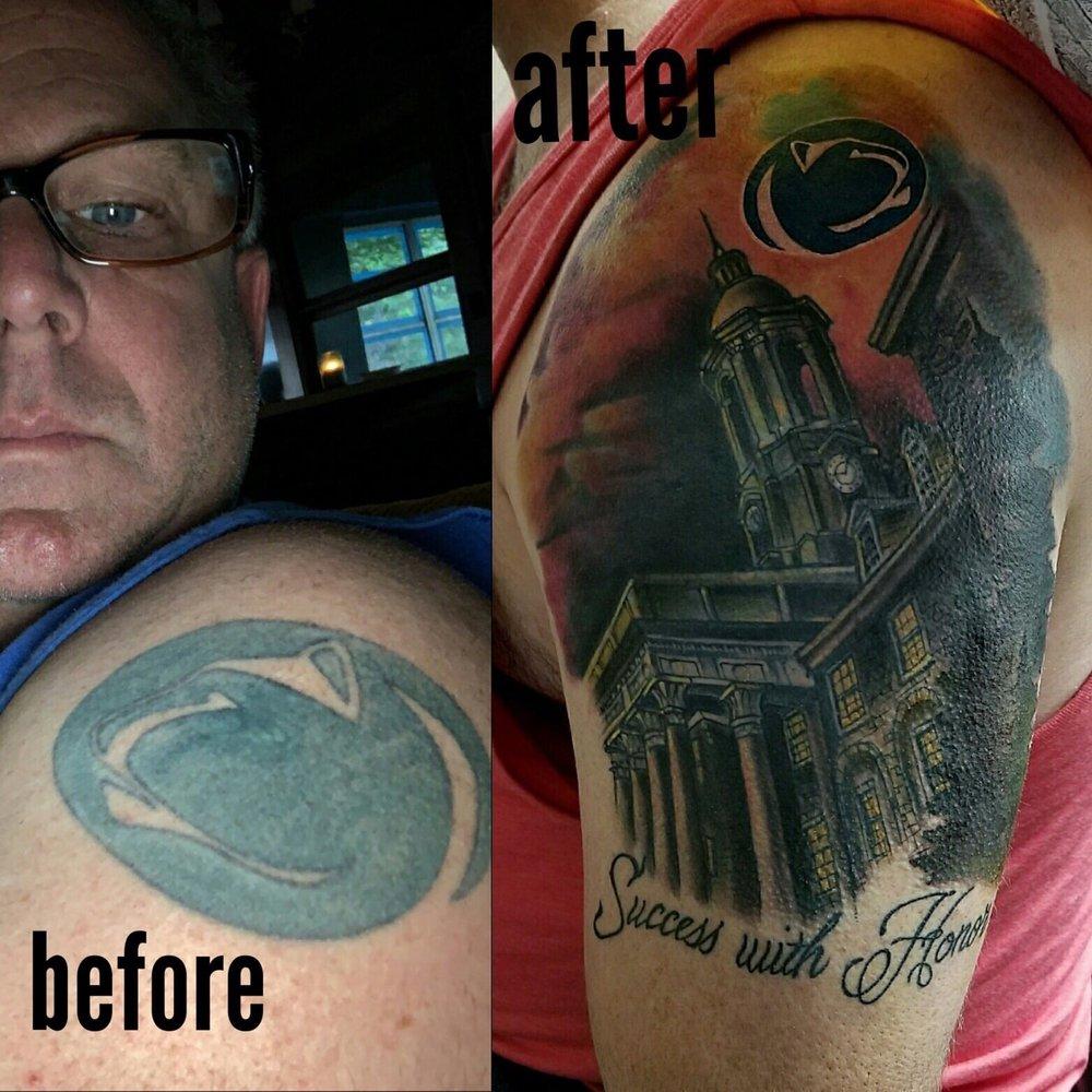 Lady Liberty Tattoo Parlor: 109B Spartanburg Hwy, Lyman, SC