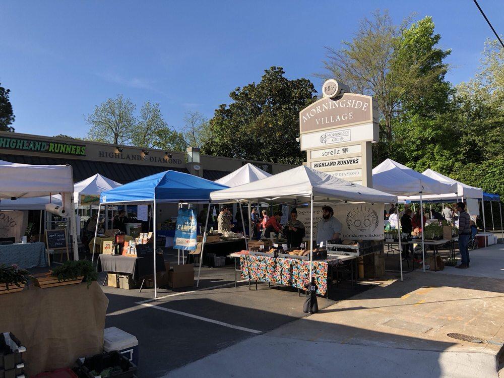 Morningside Farmer's Market: 1393 N Highland Ave, Atlanta, GA