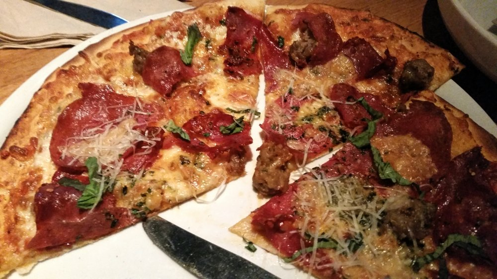 Enjoyable Sicilian Pizza On Thin Crust Yelp Home Interior And Landscaping Ologienasavecom