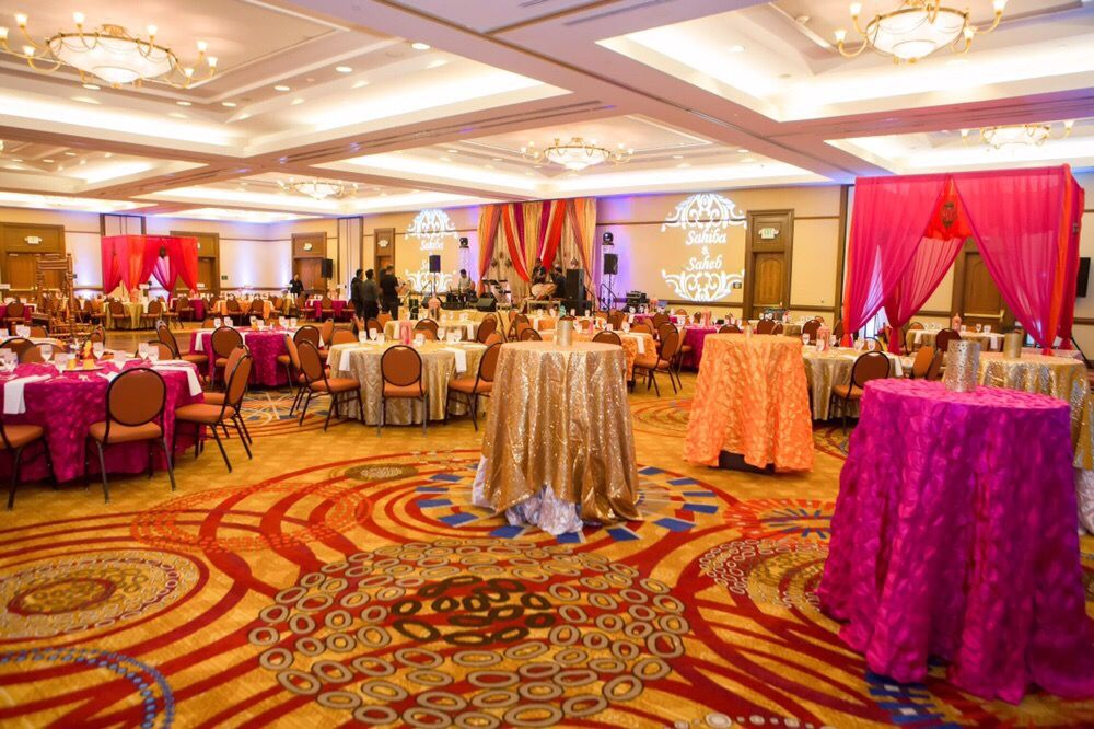 bay area indian wedding decorations sangeet decor and stage