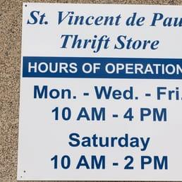 St Vincent De Paul Clothing Store