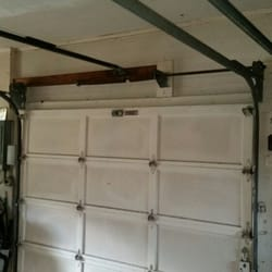 Photo of Budget Garage Doors - Orlando FL United States. Broken garage door & Budget Garage Doors - 15 Photos - Garage Door Services - Forest City ...