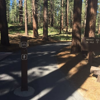 Photo of New Shady Rest Campgrounds - Mammoth Lakes, CA, United States. Bike