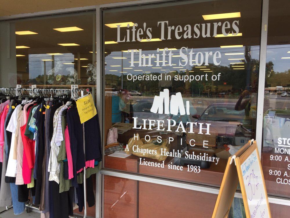 69dfaf16e7a Lifes Treasures Thrift Store - Thrift Stores - 1335 W Brandon Blvd ...