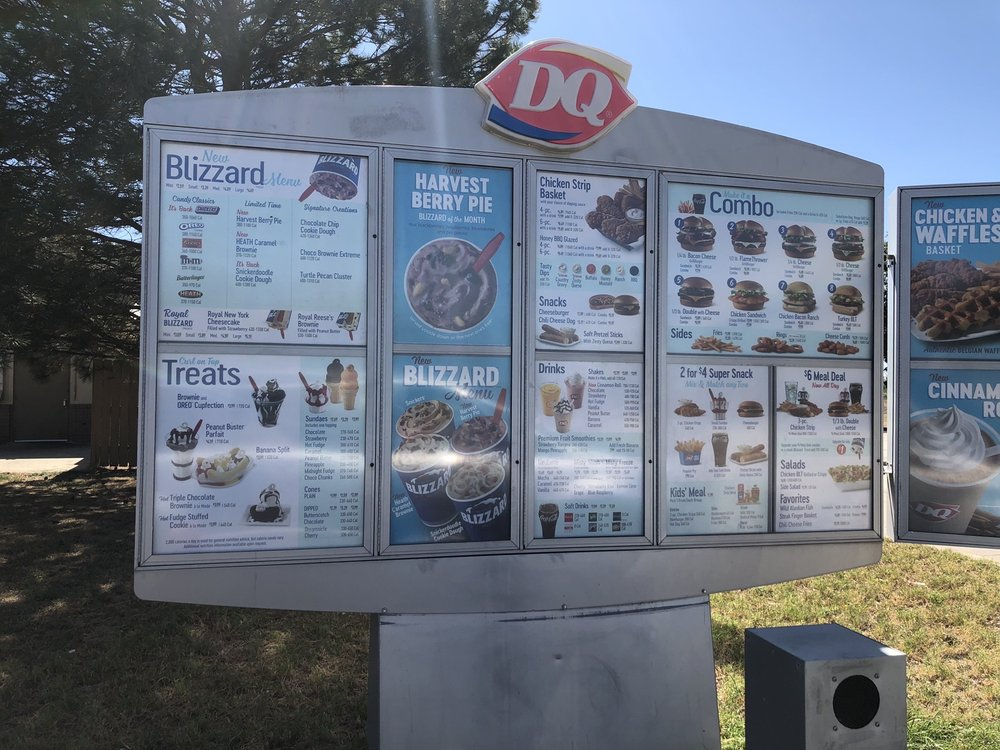 Dairy Queen Grill & Chill: E Hwy 287, Boise City, OK
