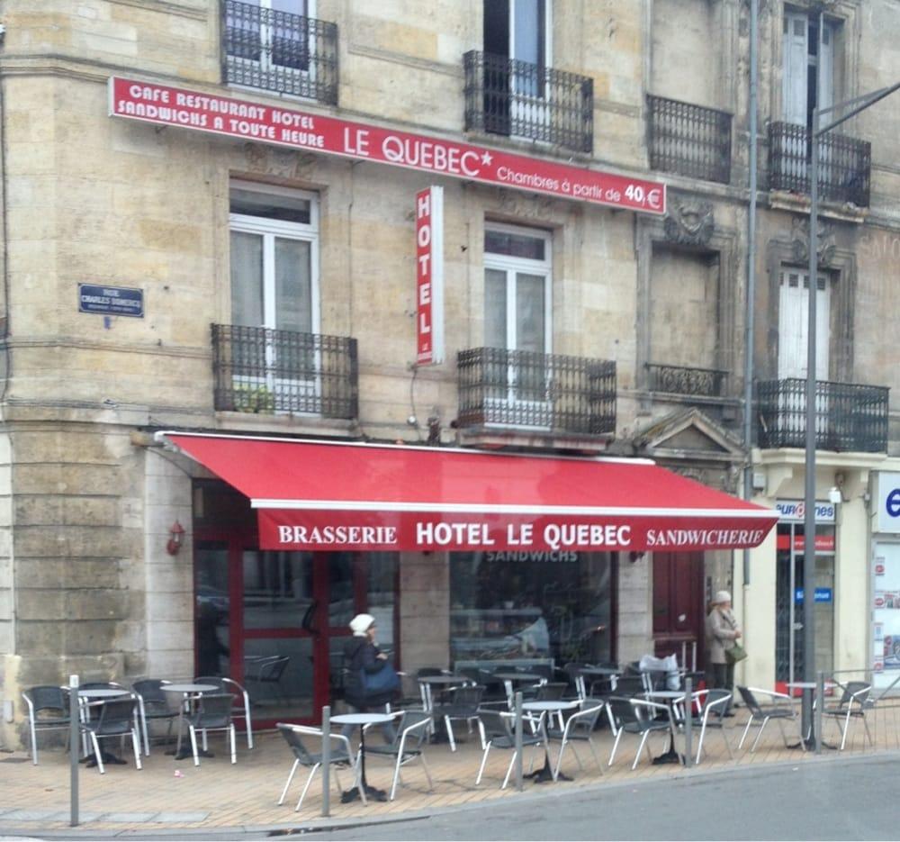 Le qu bec hotels 32 rue charles domercq gare saint for Hotel rue lafaurie monbadon bordeaux