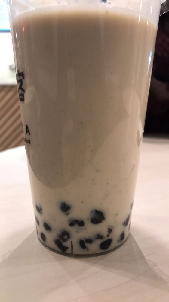 Lots of black little dots in my drink  - Yelp