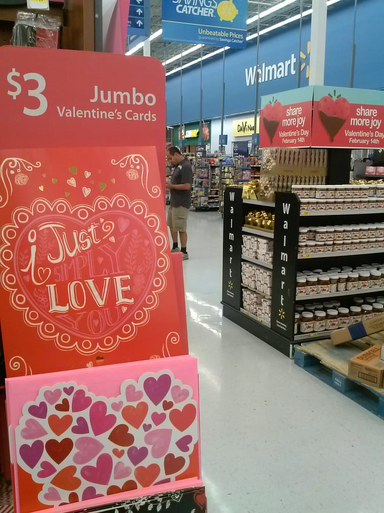 Jumbo Valentines Day cards are only 3they are running out – Walmart Valentine Cards