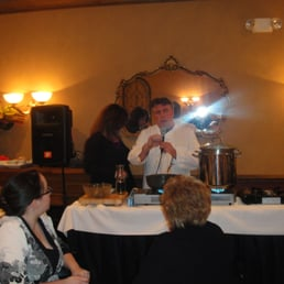 Del' Arte Ristorante - Orangeburg, NY, United States. Cooking Class AT Del Arte with Chef Giovanni