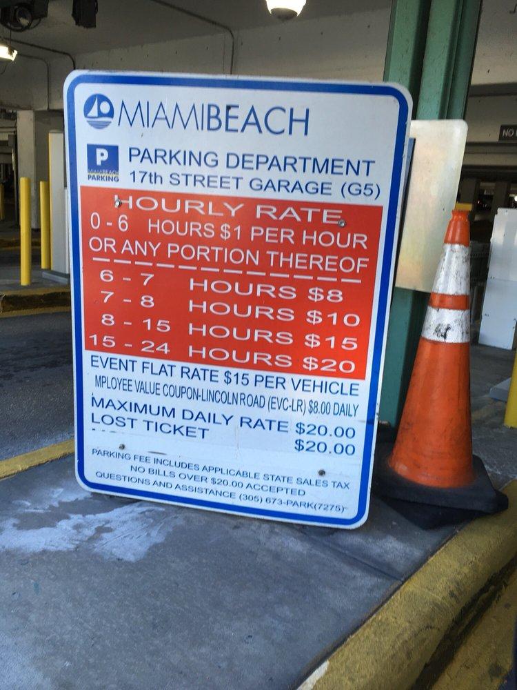 17th Street Garage: 1755 Meridian Ave, Miami Beach, FL